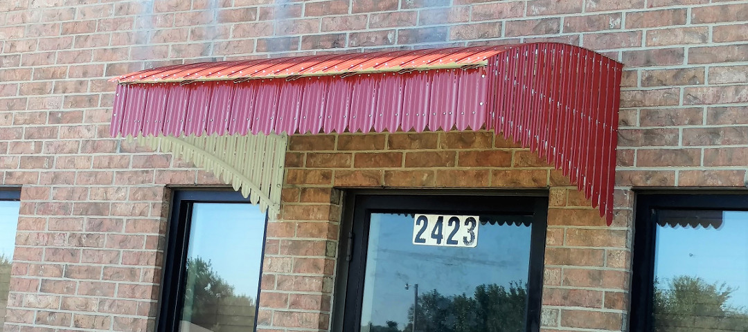 Commercial Metal Awnings | american-awning com